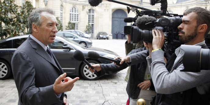 François Bayrou, le 8 septembre 2011 à Paris.