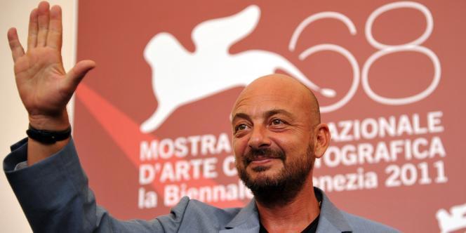 Le réalisateur italien Emanuele Crialese à la 68e Mostra de Venise, le 4 septembre 2011.