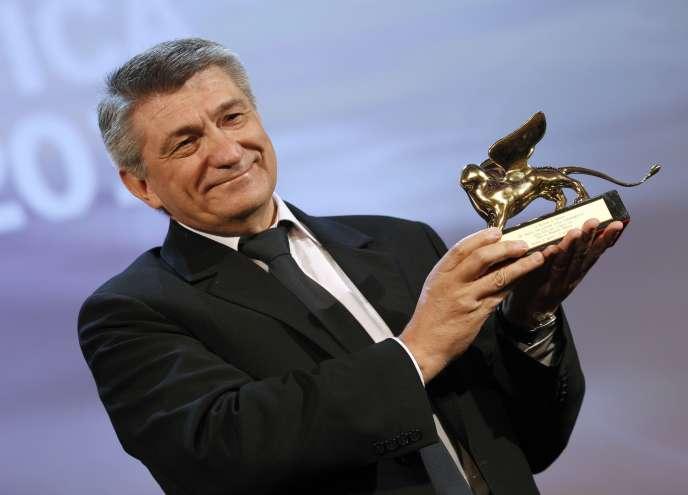 Le réalisateur russe Alexandre Sokourov à la 68e Mostra de Venise, le 10 septembre 2011.