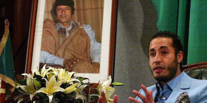 Saadi Kadhafi, le 7février2005.