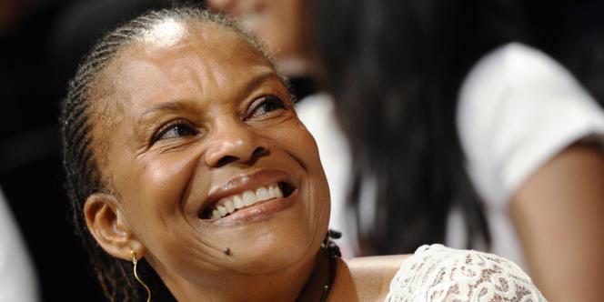 La députée de Guyane, Christiane Taubira (PRG), à Paris, le 27 juin 2011.