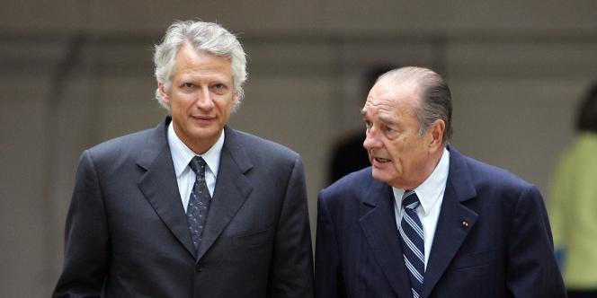 Dominique de Villepin et Jacques Chirac sont accusés par l'avocat Robert Bourgi d'avoir touché plusieurs millions de dollars de chefs d'État africains.