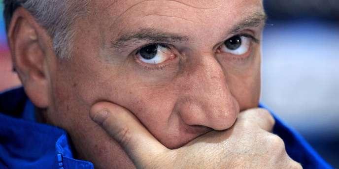 Didier Deschamps, entraîneur de l'équipe de France de football.