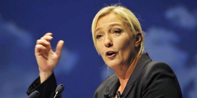Marine Le Pen, le 11 septembre à Nice.