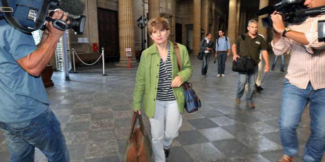 Claire Thibout a été entendue au tribunal de Bordeaux, mercredi 14 septembre 2011.