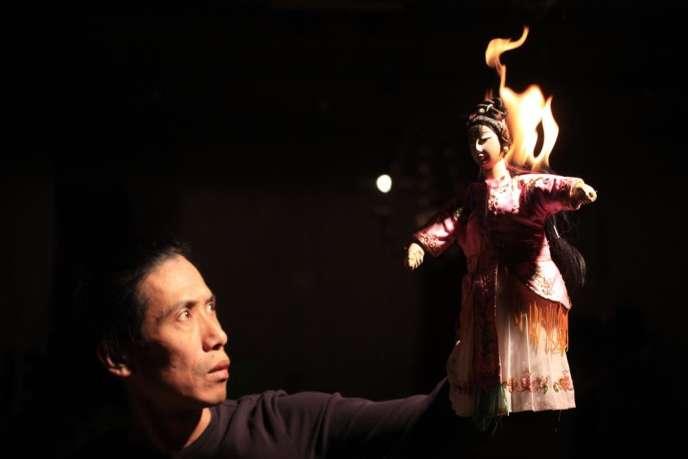 Le marionnettiste chinois Yeung Faï.