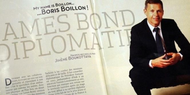 L'interview de Boris Boillon dans le numéro de septembre du magazine