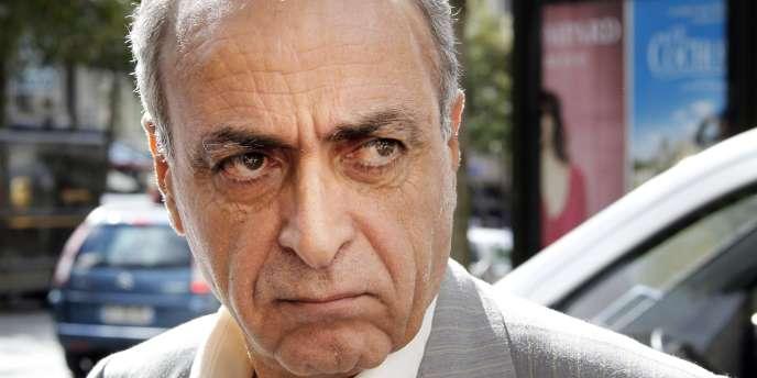 L'homme d'affaires franco-libanais Ziad Takieddine, ici le 14 septembre 2011 à Paris.