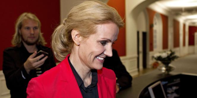 La première ministre danoise, Helle Thorning-Schmidt.