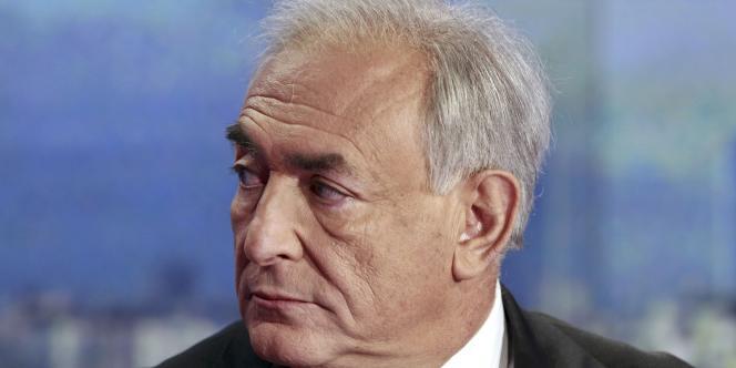 Dominique Strauss-Kahn, sur le plateau de TF1, le 18 septembre.