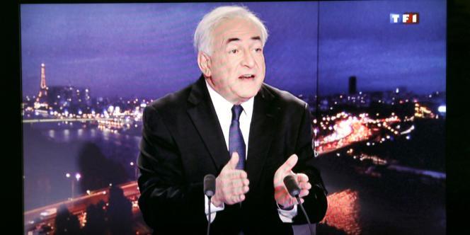 Dominique Strauss-Kahn, dimanche 18 septembre au 20 heures de TF1.