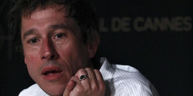 Le réalisateur Bertrand Bonello au 64e Festival de Cannes, le 16 mai 2011.