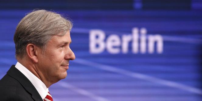 Klaus Wowereit, le maire social-démocrate (SPD) de Berlin, en septembre 2011.