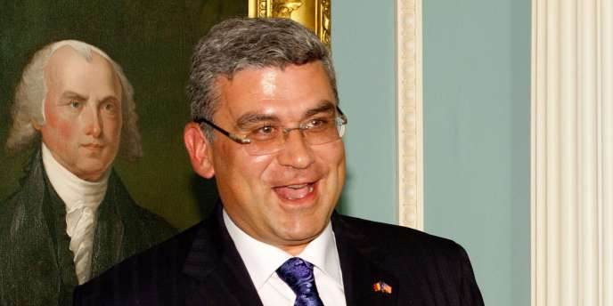 Le ministre des affaires étrangères roumain, Teodor Baconschi, à Washington, le 13 septembre 2011.