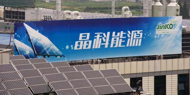 L'usine de panneaux solaires Jinko à Hongxiao dans la province chinoise du Zhejiang, le 20 septembre 2011.
