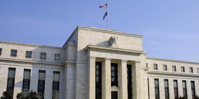 Vue de la Fed, la Réserve fédérale américaine, à Washington.