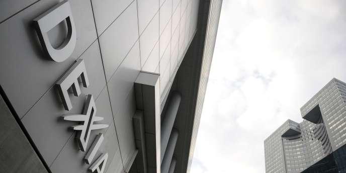 Les locaux de la banque Dexia à Courbevoie.
