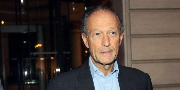 Thierry Gaubert, ici le 21 septembre 2011 à Paris, est un ancien collaborateur de Nicolas Sarkozy. Il est aussi mis en examen dans l'affaire Karachi.