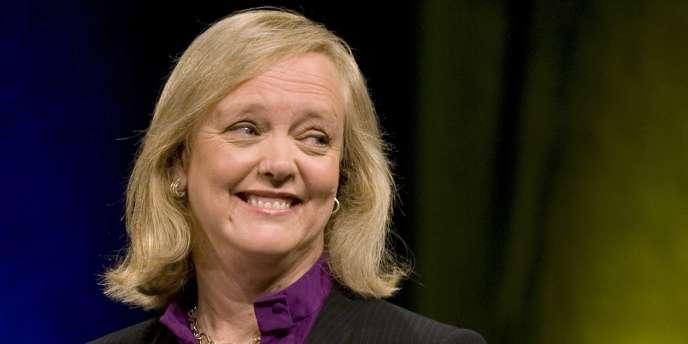 Meg Whitman, pendant l'un des débats de la campagne électorale pour le poste de gouverneur de Californie en 2010.