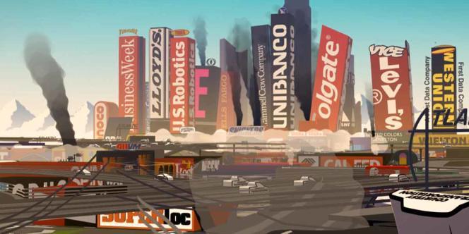 Une image du film d'animation français de H5, François Alaux, Hervé de Crécy, Ludovic Houplain, David Alapont,