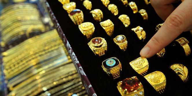 L'Inde et la Chine représentent la moitié de la demande d'or mondiale.
