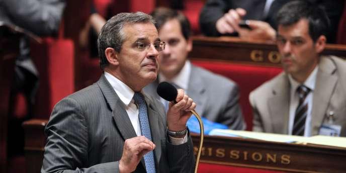 Thierry Mariani, ministre chargé des transports.
