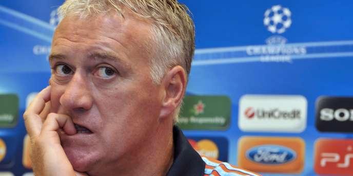 Didier Deschamps, entraîneur de l'OM.