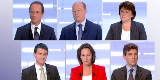 Le deuxième débat de la primaire socialiste, le 28 septembre.