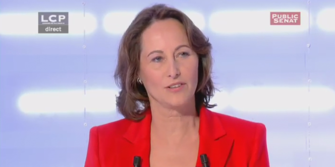 Ségolène Royal, lors du second débat de la primaire socialiste.