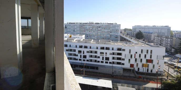 Vue depuis la tour Utrillo à Clichy-sous-Bois-Montfermeil (Seine-Saint-Denis).