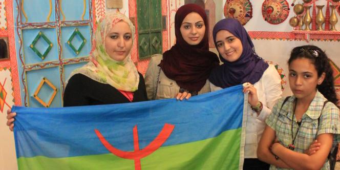Des participantes à la conférence organisée par les Berbères à l'hôtel Rixos, à Tripoli, le 26 septembre.