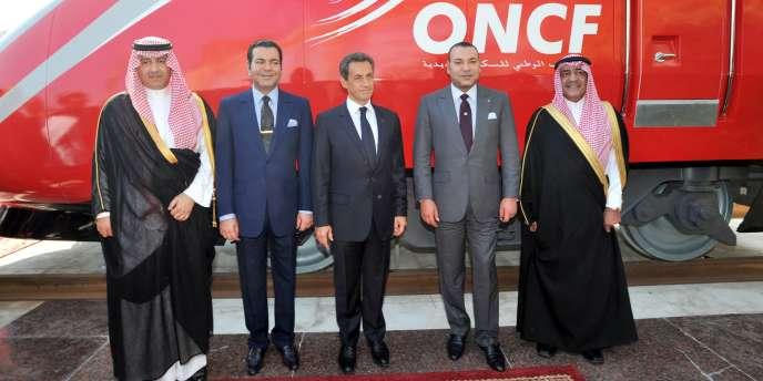 La ligne permettra, en principe fin 2015, de relier à 320 km/h Tanger à Casablanca, via Rabat.
