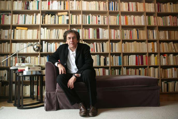 Alain Finkielkraut, en 2007.