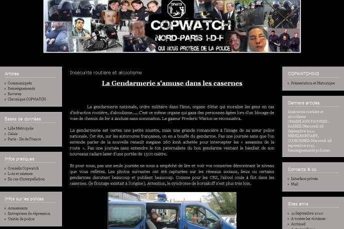 Le site Copwatch Nord-Paris-IDF s'est donné pour mission de révéler les abus, la corruption et les violences policières, sans hésiter à montrer les visages des agents.