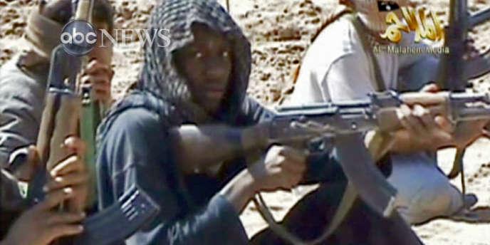 Capture d'écran d'une vidéo d'Al-Qaida au Yémen diffusée par ABC News.