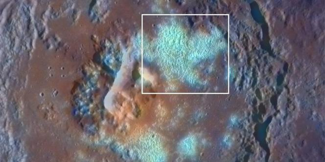Une image de Mercure prise par la sonde