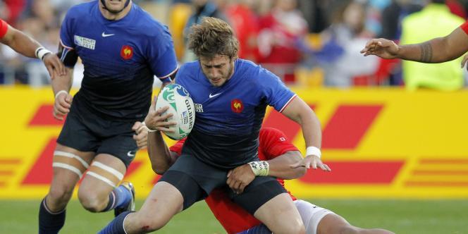 La France s'est qualifiée pour les quarts de finale samedi malgré une défaite 19 à 14 face aux Tonga.