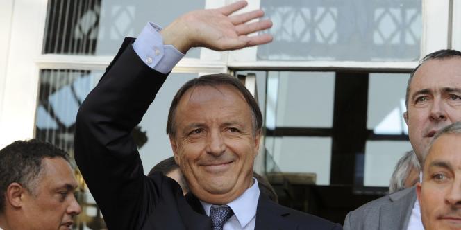 Le nouveau président du Sénat, Jean-Pierre Bel, à Paris, le 1er octobre 2011.