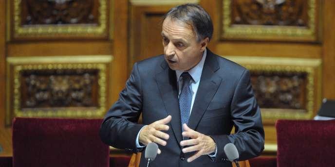 Le nouveau président du Sénat, Jean-Pierre Bel (PS), le 1er octobre 2011.