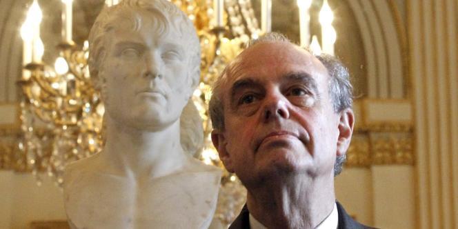 Frédéric Mitterrand, le 13 janvier dans les locaux du ministère de la culture.