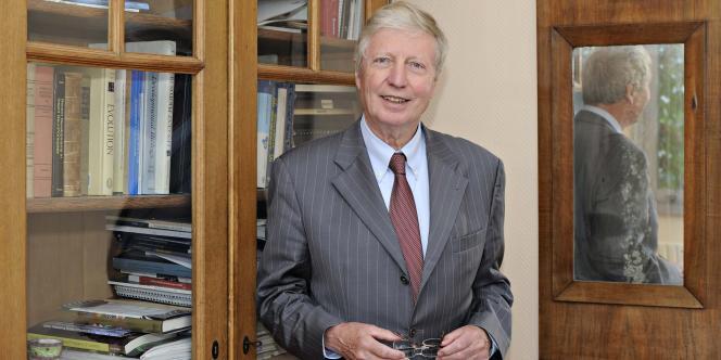 Le biologiste Jules Hoffmann, le 20 septembre.