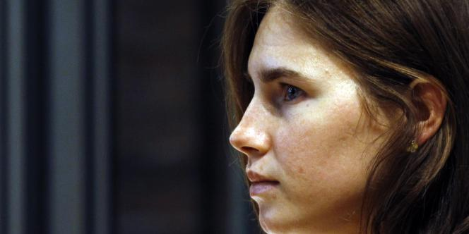 Amanda Knox, lors d'une audience du procès en appel à Pérouse, vendredi 30 septembre.