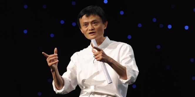 Jack Ma, directeur général d'Alibaba, le 10 septembre 2011 à Hangzhou, en Chine.