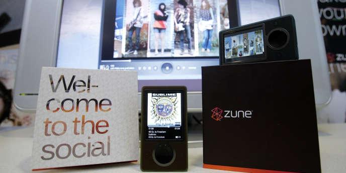 Un baladeur numérique Zune, en 2006.