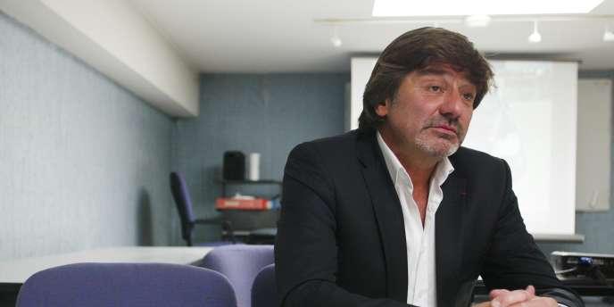 Michel Neyret, l'ancien numéro 2 de la police judiciaire de Lyon, en 2011.