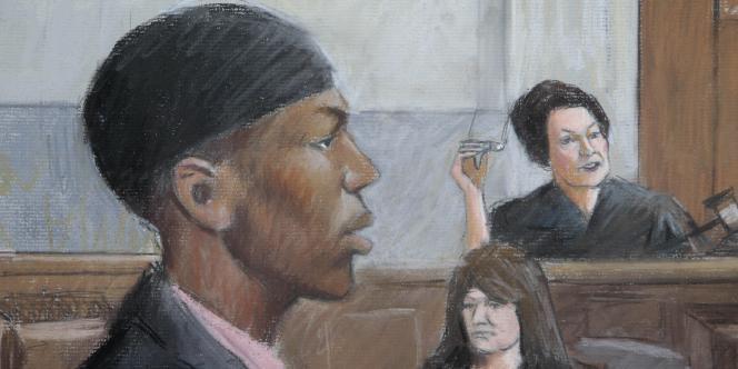 Omar Farouk Abdulmutallab devant la juge Nancy Edmunds, le 4 octobre 2011.