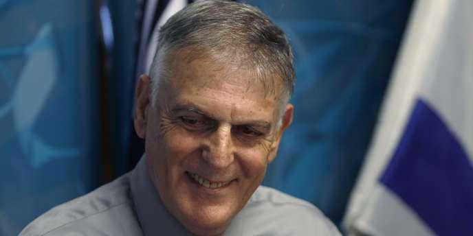 L'Israélien Daniel Shechtman a reçu le prix Nobel de chimie - ici, le 5 octobre 2011 à Haïfa.