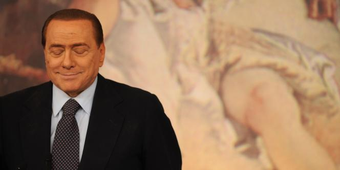 Silvio Berlusconi, le 22 juillet à Rome.