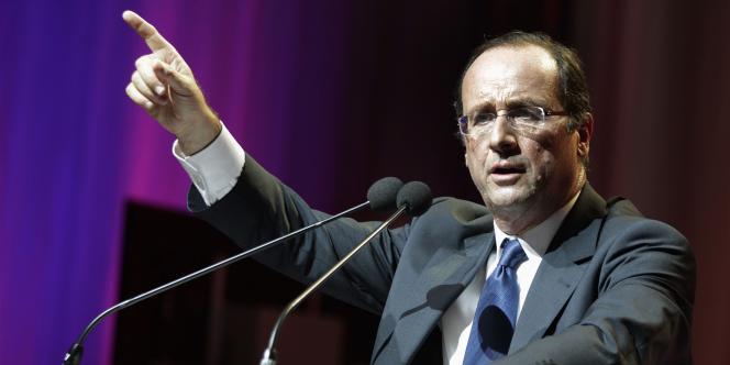 Sur scène à Toulouse, François Hollande a dit que