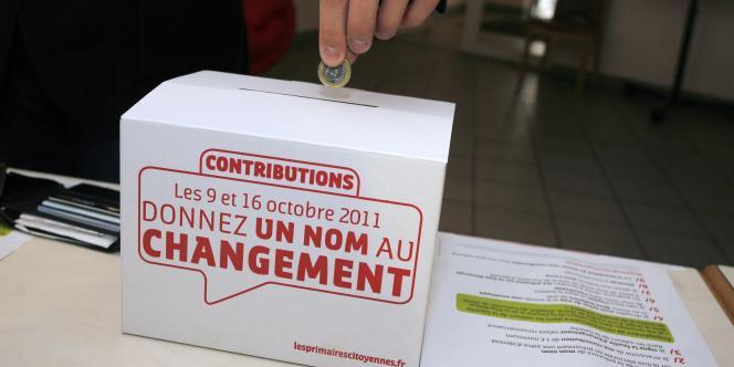 Pour participer au scrutin, il fallait verser 1 euro au minimum